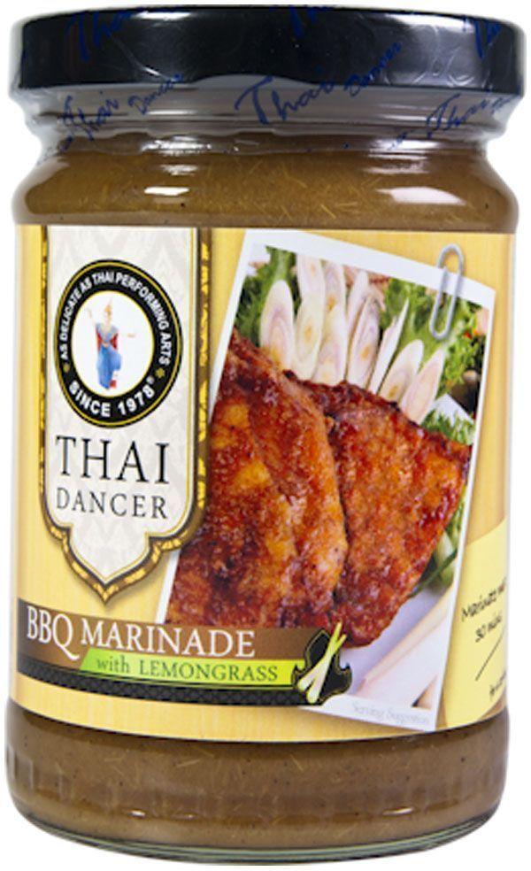 Thai Dancer Маринад для барбекю с лемонграссом, 227 г барбекю маринад