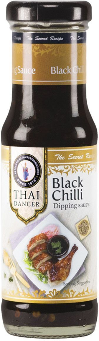 Thai Dancer Соус с грибами и мятой Black Chili, 150 мл соус чили pearl river bridge yellow lantern chili sauce 240 г