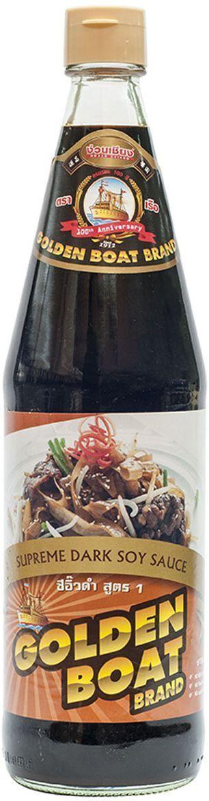 Golden Boat Темный соевый соус Премиум, 700 мл соевый соус с пониженным содержанием соли pearl river bridge premium soy sauce 300 мл