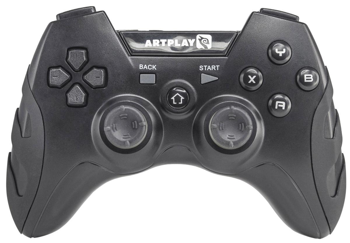 цена на Artplays AN-201 беспроводной геймпад для PC/PS3/Android/iCade
