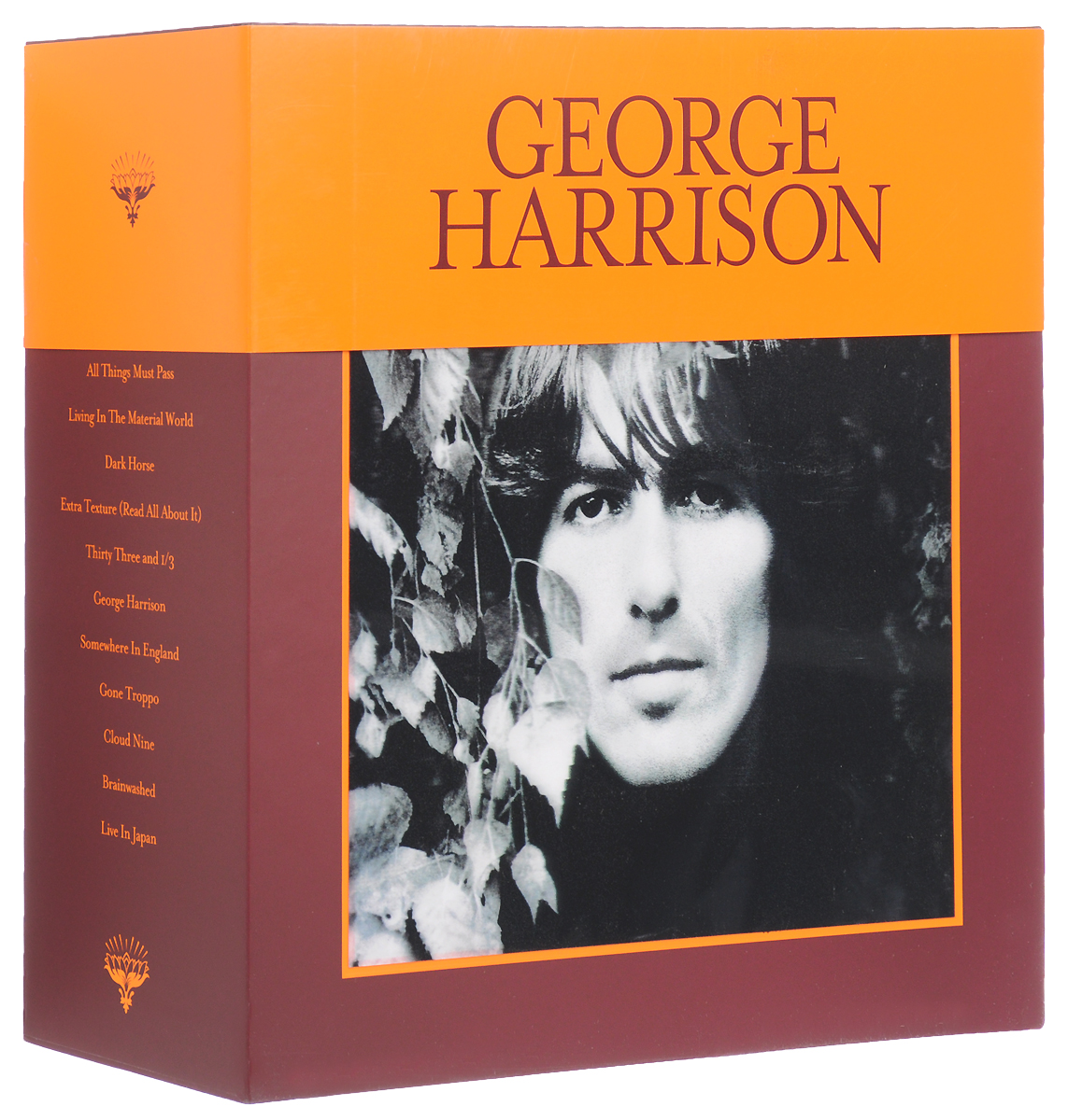 Джордж Харрисон George Harrison. The Vinyl Collection (18 LP) кендрик ламар kendrick lamar damn 2 lp