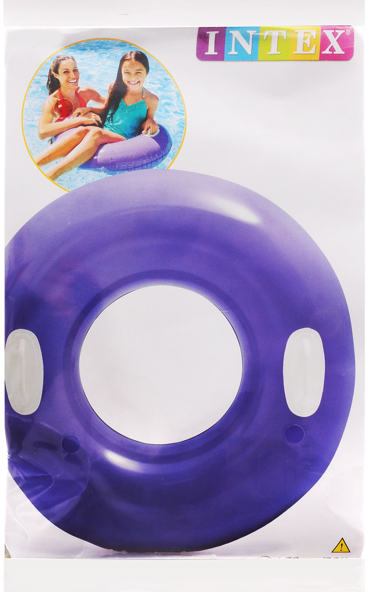 Intex Круг надувной Hi-Gloss Tubes 76 см цена