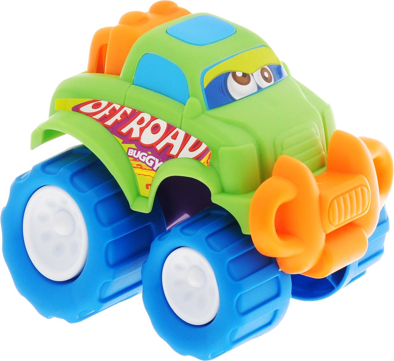 Keenway Машинка-игрушка Mini Monster Wheel цвет светло-зеленый keenway машинка mini vehicles цвет красный