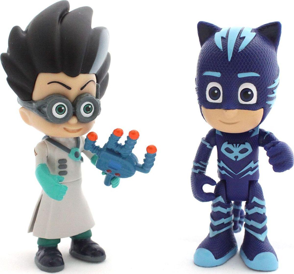 PJ Masks Набор фигурок Кэтбой и Ромео игрушки для ванны pj masks игровой набор кэтбой и ромео