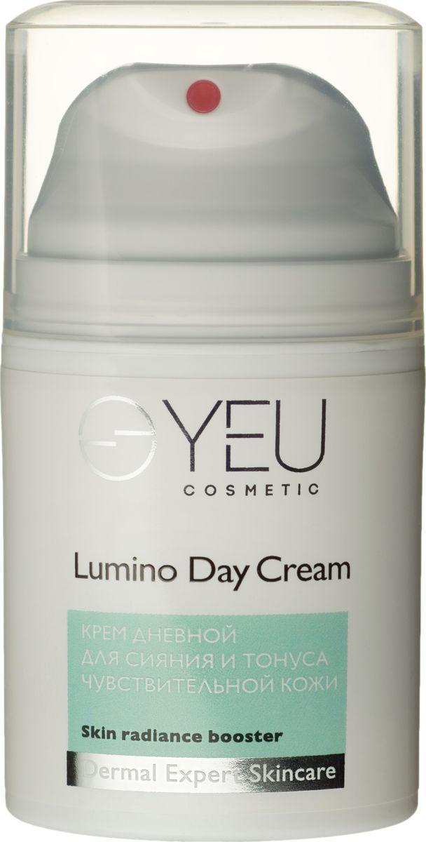 Крем дневной для сияния и тонуса чувствительной кожи с пигментацией YEU Cosmetic Lumino Day Cream +С, 50 мл YEU Cosmetic