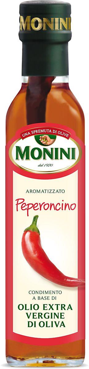 Monini масло оливковое Extra Virgin Красный острый перец, 250 мл