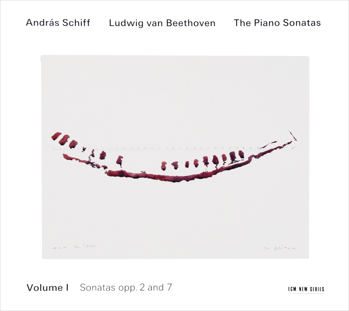 лучшая цена Андрас Шифф Andras Schiff. Beethoven. The Piano Sonatas. Volume I (2 CD)