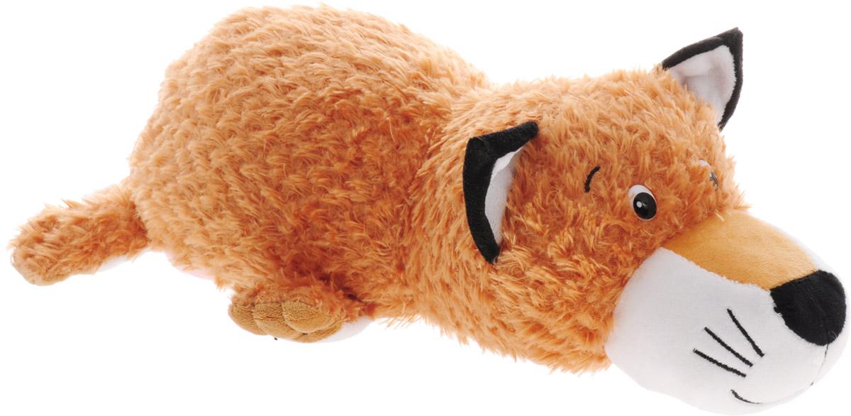 Gulliver Мягкая игрушка-перевертыш Лисичка-Корова 35 см мягкие игрушки gulliver коровка муму 20 см