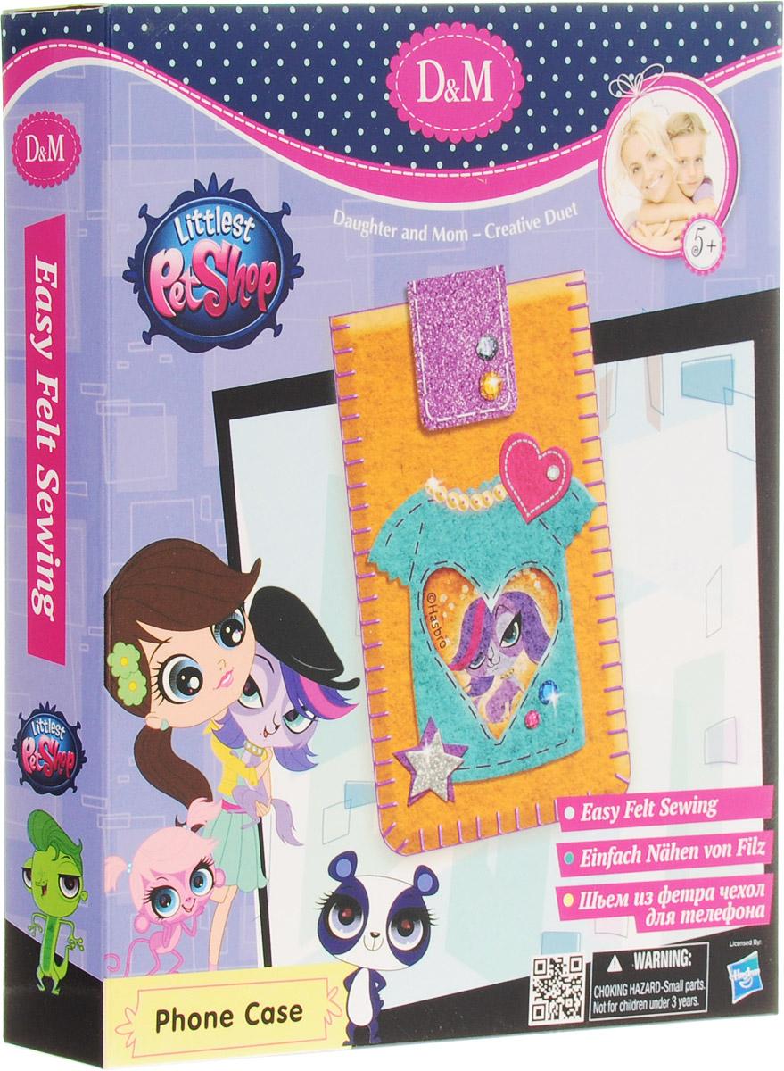 D&M Набор для создания чехла для мобильного телефона Littlest Pet Shop Спаниель Зоя делай с мамой набор бус пайетки лазурный берег