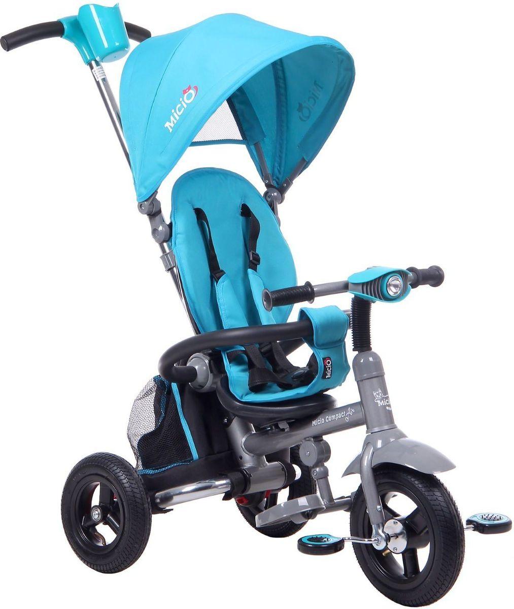 Micio Велосипед детский трехколесный Compact Air 2017 цвет бирюзовый