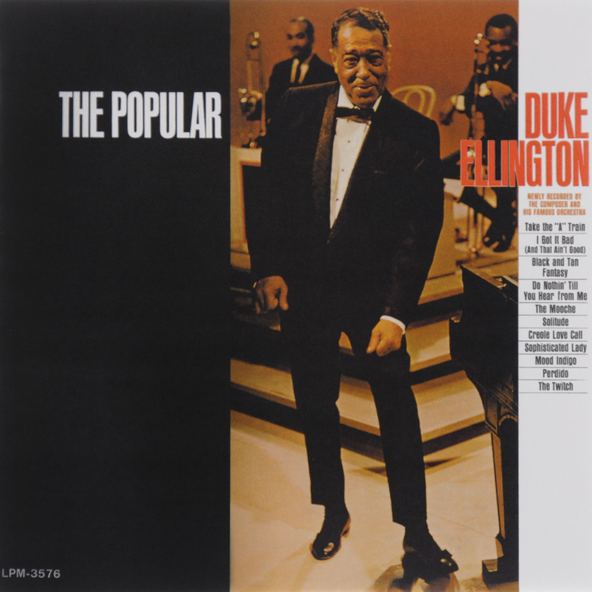 Дюк Эллингтон Duke Ellington. The Popular Duke Ellington dkny ellington ny2593