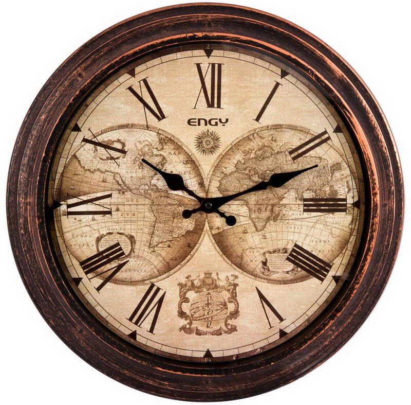 Engy ЕС-17 Круглые настенные часы часы настенные engy d300мм