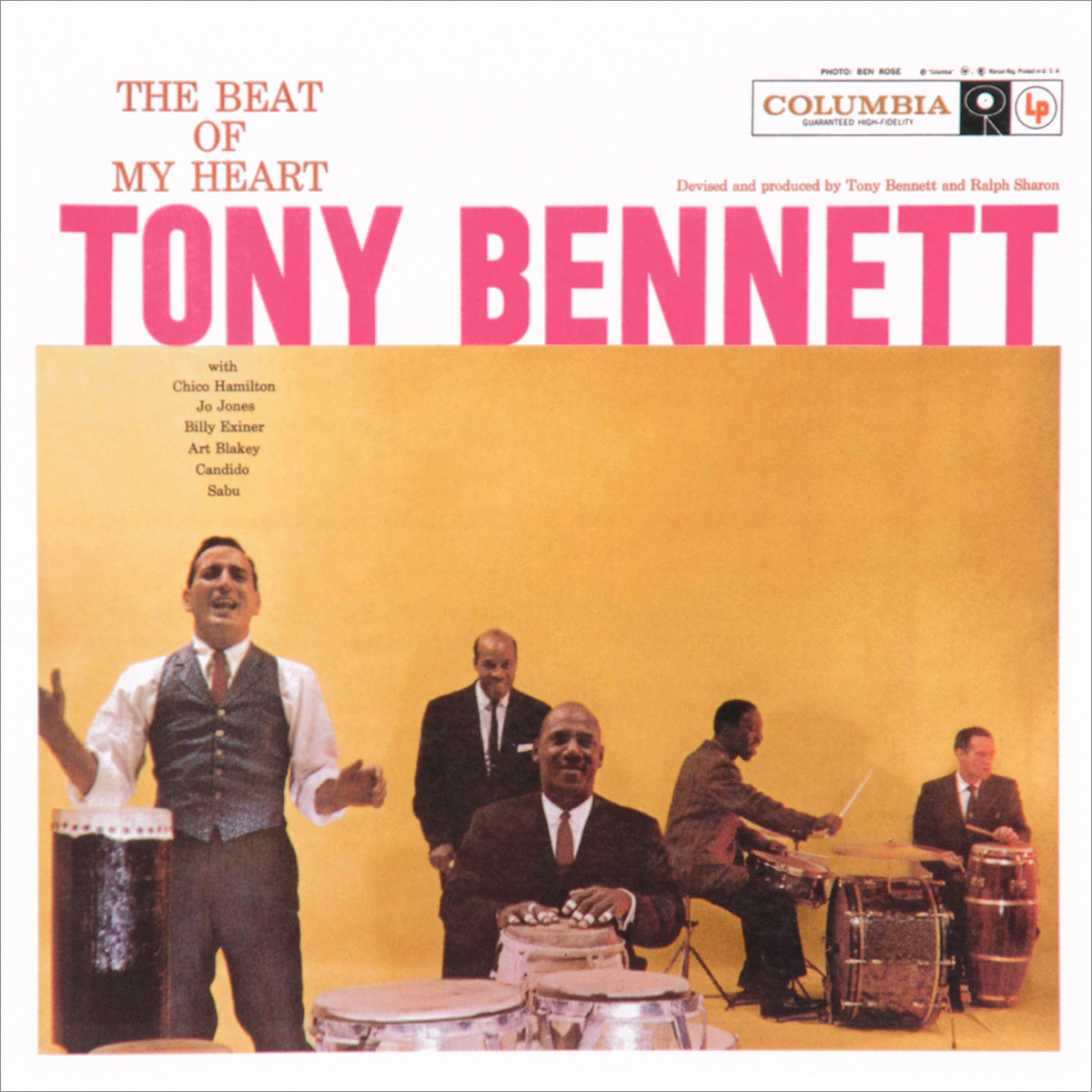 Тони Беннетт Tony Bennett. The Beat Of My Heart дайана кролл тони беннетт bill charlap trio tony bennett