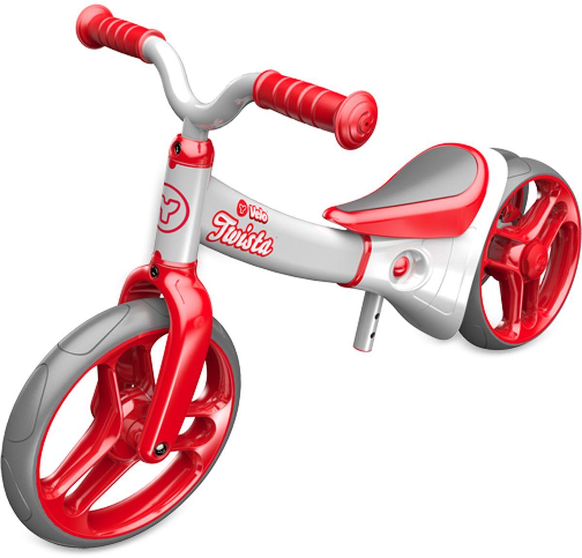 все цены на Y-Volution Беговел двухколесный Velo Twista с двойным регулируемым колесом онлайн
