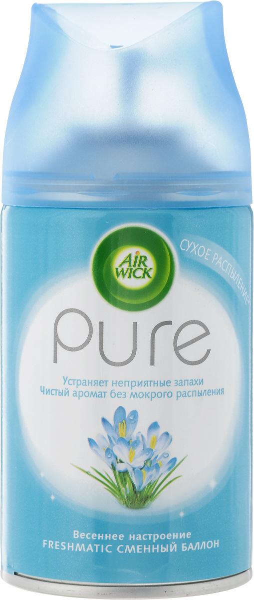 Баллон для автоматического освежителя воздуха Air Wick Pure. Весеннее настроение, 250 мл