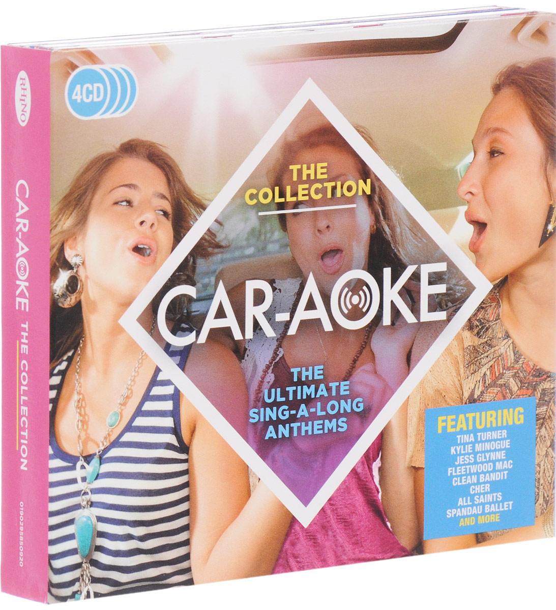 Фото - The B-52's,Fleetwood Mac,Kajagoogoo,Club Nouveau,Арета Фрэнклин,Отис Реддинг,The Animals,The Hollies,Кайли Миноуг,Гнарлс Баркли,The Darkness,Joy Division,Даниэль Паутер,Джейсон Мрэз,Cee Lo Green, Cee-Lo Green,The Proclaimers Car-Aoke. The Collection (4 CD) кайли миноуг kylie minogue aphrodite cd dvd