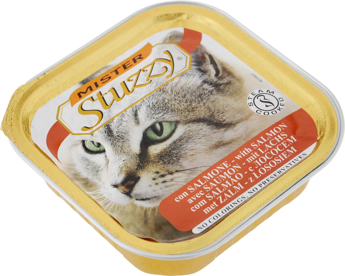 """Консервы для кошек Stuzzy """"Mister"""", с лососем, 100 г"""