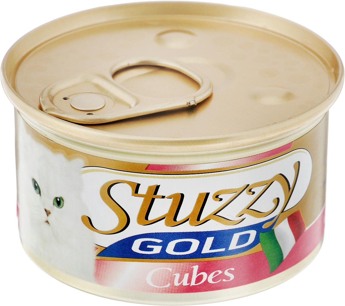 Консервы для взрослых кошек Stuzzy Gold, с курицей, 85 г консервы для взрослых кошек stuzzy gold с кроликом 85 г