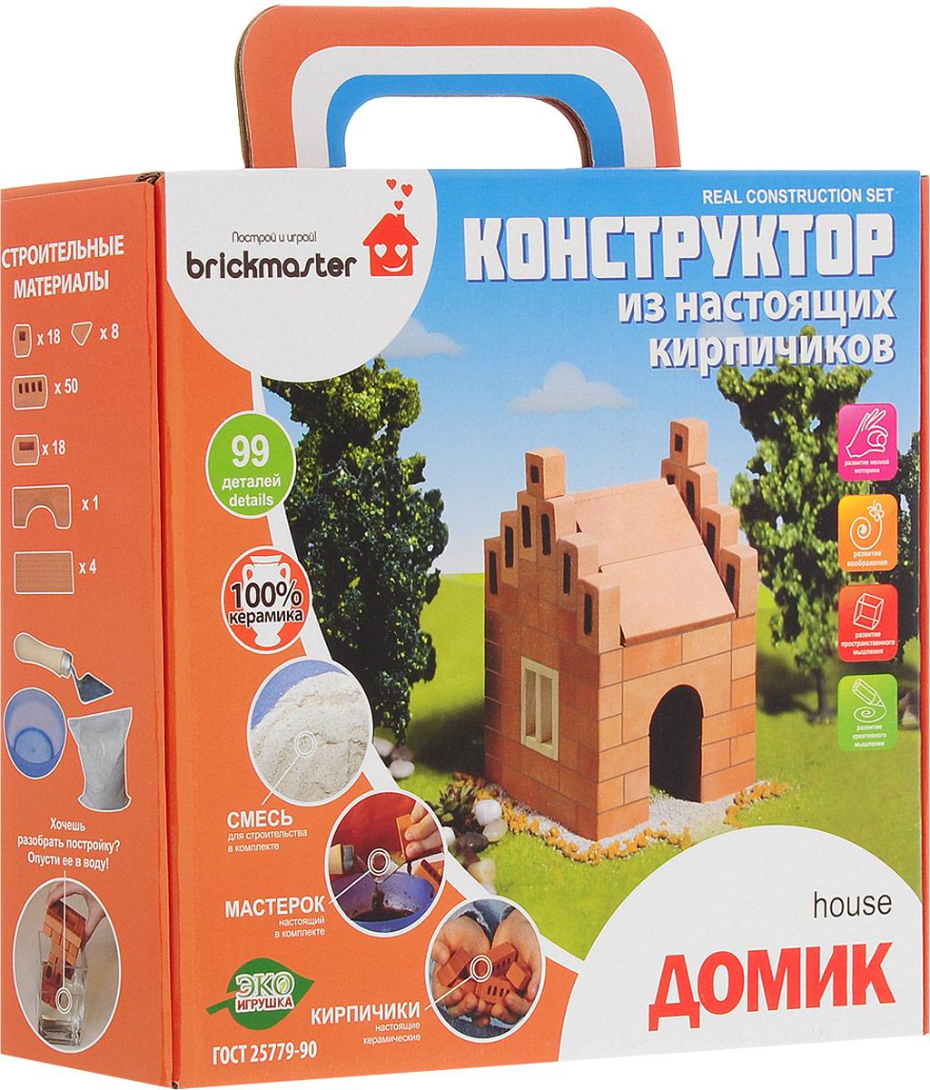 Brickmaster Конструктор Домик brickmaster brickmaster конструктор крепость 2 в 1 119 деталей page 2