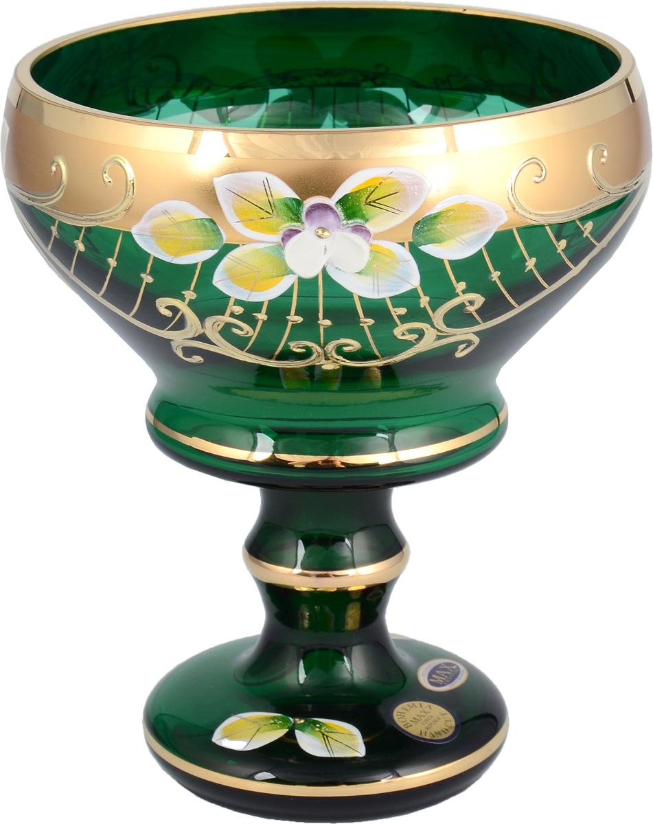 "Конфетница ""Star Crystal"", цвет: зеленый, 13 см. 23638"