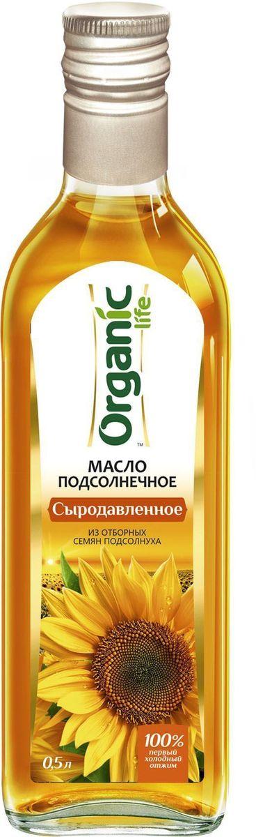 Масло подсолнечное Сыродавленное 500мл