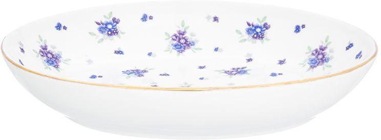 Блюдо для слоеных салатов Elan Gallery Сиреневый туман, 21,5 х 16 см, 600 мл блюдо для слоеных салатов elan gallery сиреневый туман 21 5 х 16 см 600 мл
