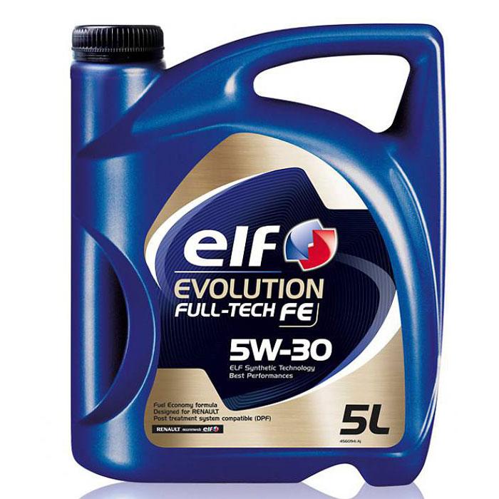"Моторное масло Elf ""Evolution. Full-Tech Fe"", 5W-30 5л."