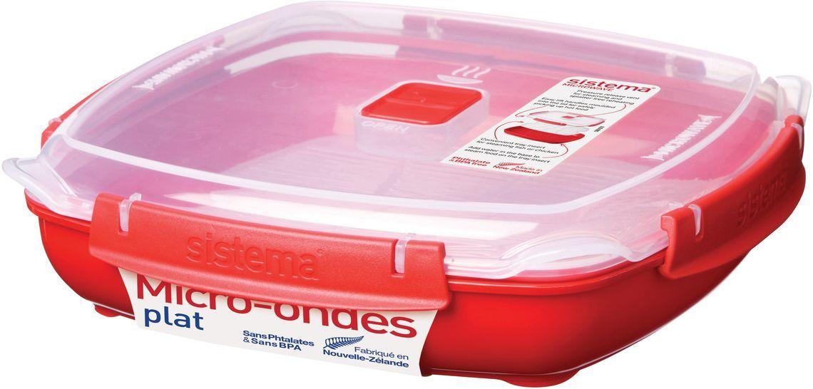 Контейнер пищевой Systema 1106, красный