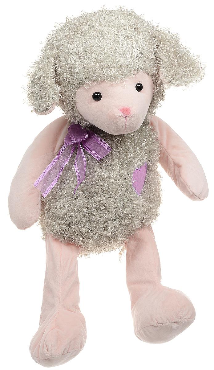 Magic Bear Toys Мягкая игрушка Овечка цвет серо-зеленый 42 см
