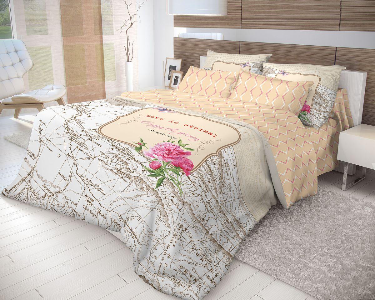 Комплект белья Волшебная ночь Map, евро, наволочки 70х70, цвет: белый, оранжевый мышь беспроводная cbr cm 547 серый usb