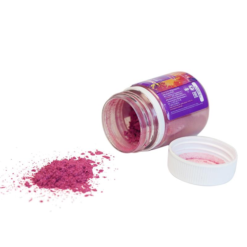 Пигмент косметический Выдумщики, цвет: малиновый, 5 г форма для мыла выдумщики букет тюльпанов пластиковая цвет прозрачный