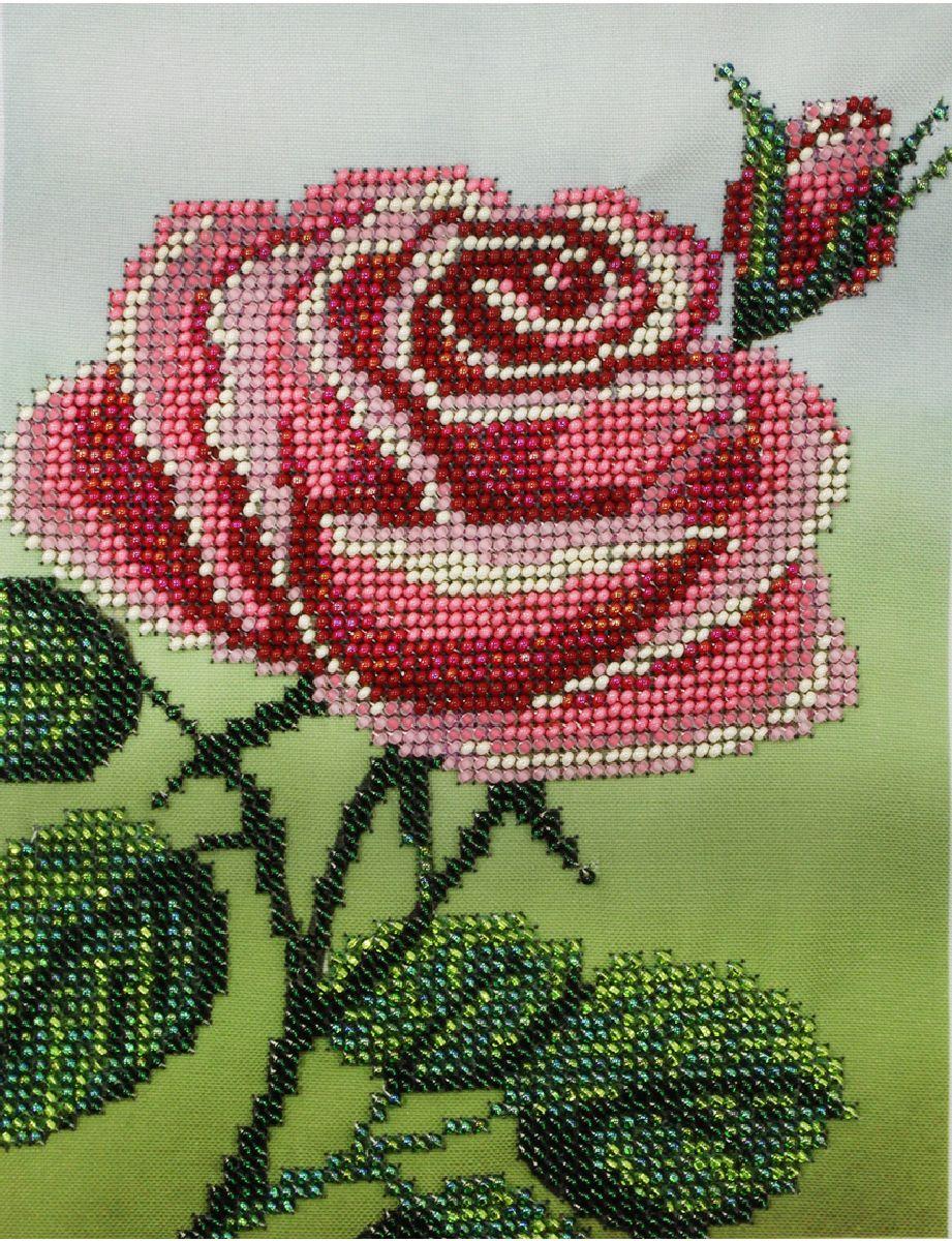Вышивка бисером рисунок на полотне