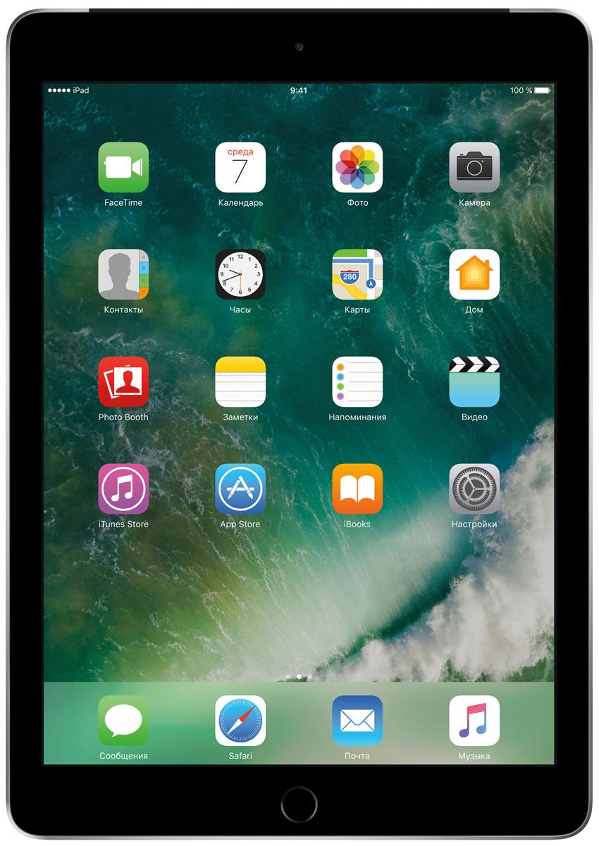 "Планшет Apple iPad 9.7"" Wi-Fi + Cellular (2017), 128 ГБ, серый космос"