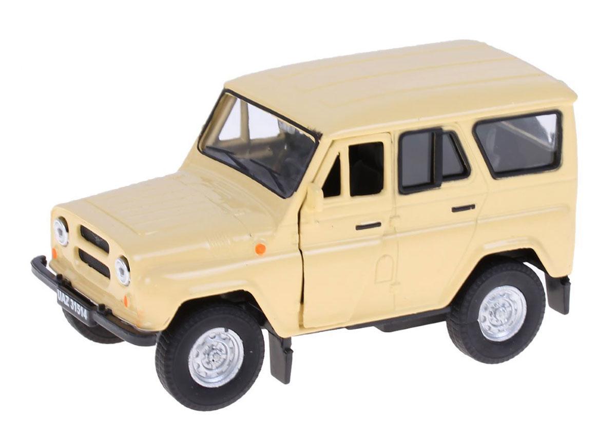 Autotime Модель автомобиля УАЗ 31514 цвет бежевый autotime модель автомобиля uaz 39625 гражданская