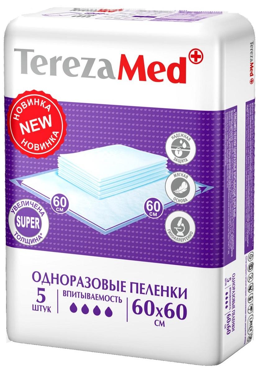 одноразовые пеленки Пеленка одноразовая TerezaMed, 5 шт.