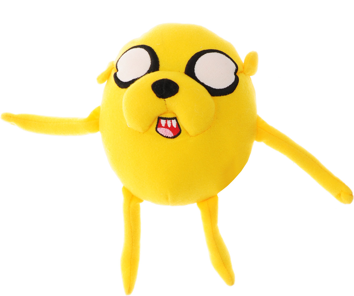 Adventure Time Мягкая игрушка Jake шарик 15 см майка print bar джейк adventure time