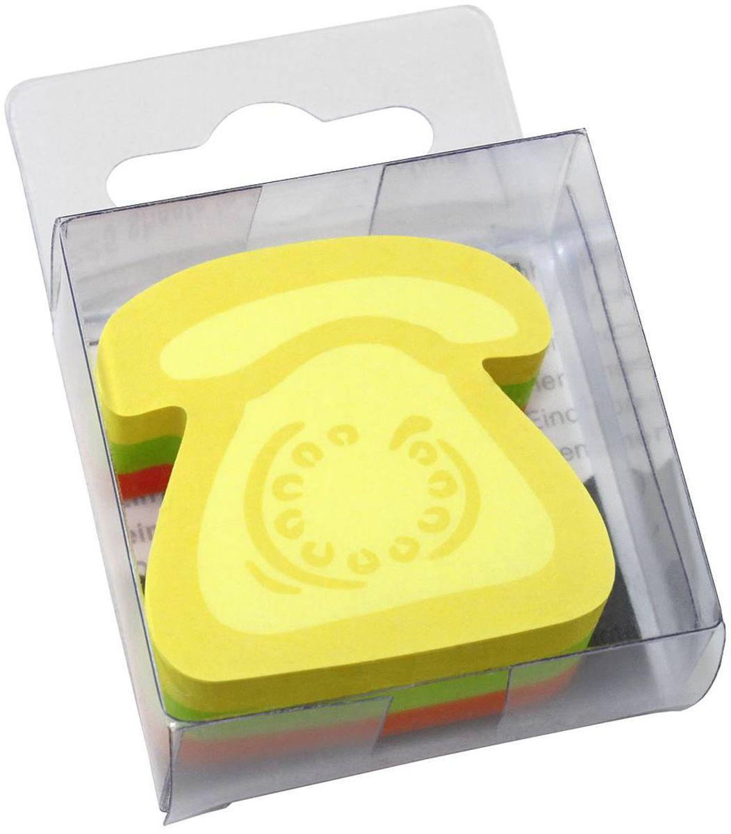 Global Notes Бумага для заметок с липким слоем Телефон 5 х 5 см 225 листов berlingo бумага для заметок c клеевым краем 7 6 х 7 6 см цвет зеленый 100 листов