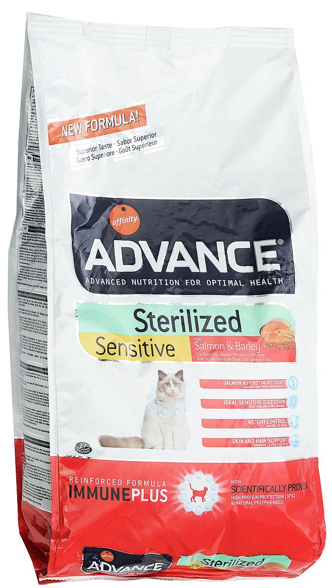 Корм сухой Advance Sterilized, для стерилизованных кошек, ячмень и лосось, 1,5 кг тетива для рогатки advance group