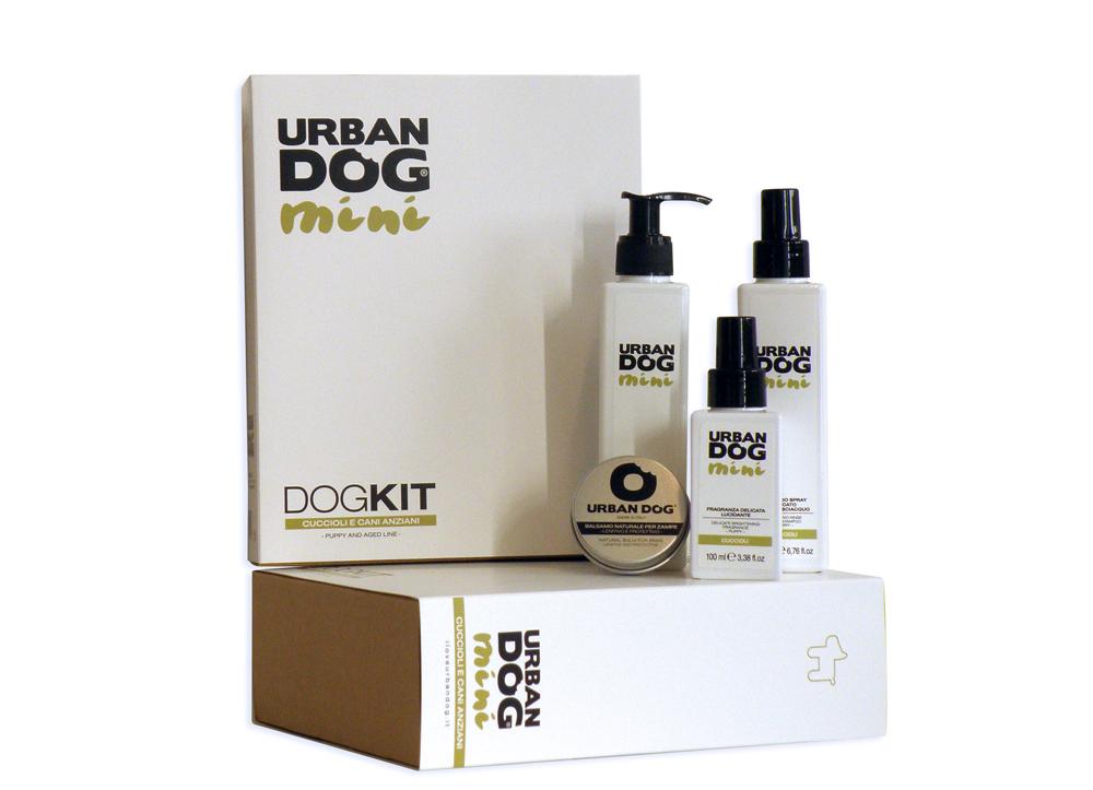 Набор Urban Dog для щенков и стареющих собак, 4 предмета шампунь urban dog 2 в 1 деликатный с молочными протеинами mini 200мл