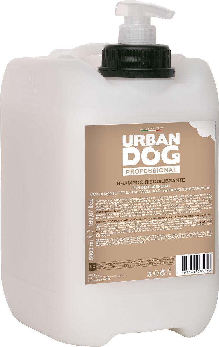 Фото - Шампунь для собак Urban Dog, от зуда, восстанавливающий кожу, 5 л trixie стойка с мисками trixie для собак 2х1 8 л