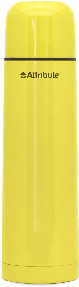 Термос Attribute Color, с узкой горловиной, цвет в ассортименте, 1 л