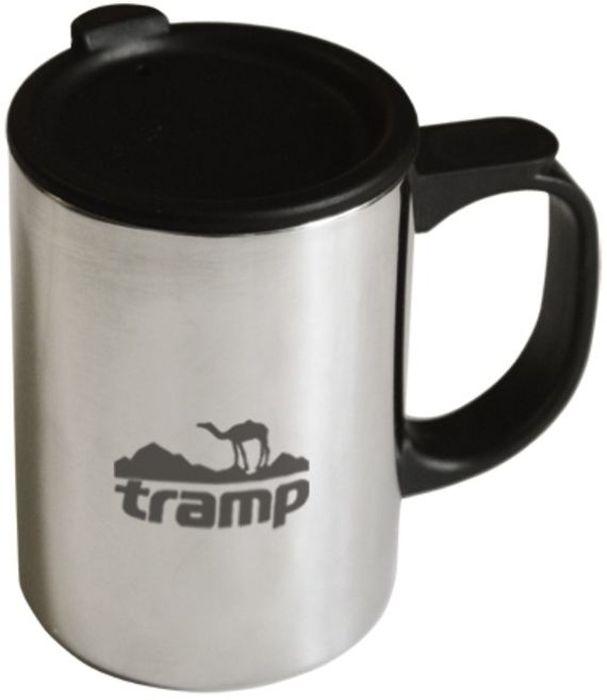 Термокружка Tramp, с поилкой, цвет: серый, 0,3 л. TRC-018 термокружка tramp цвет серый металлик 225 мл trc 008