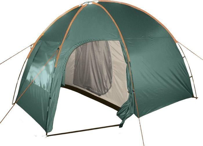 Палатка кемпинговая Totem Apache 4, цвет: зеленый. TTT-007,09 палатка totem tepee v2 green ttt 020