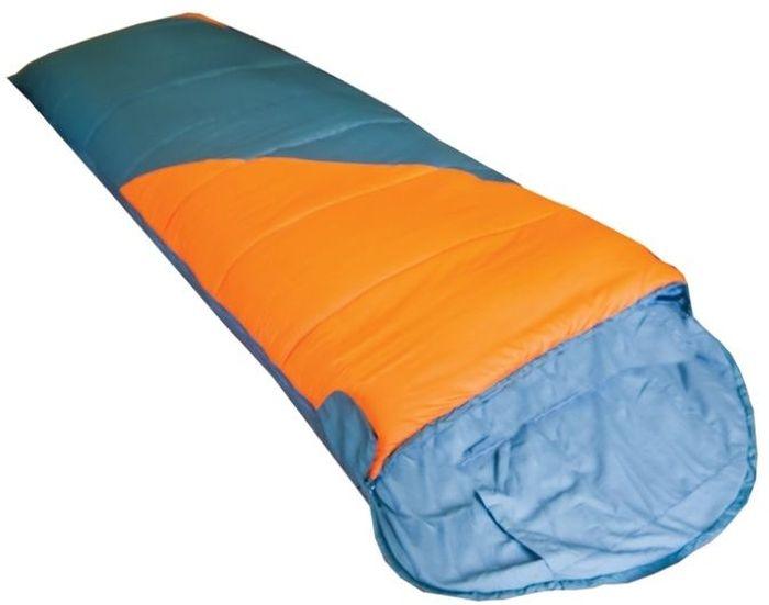 Спальный мешок Tramp Fluff R, цвет: оранжевый, серый, правосторонняя молния цена