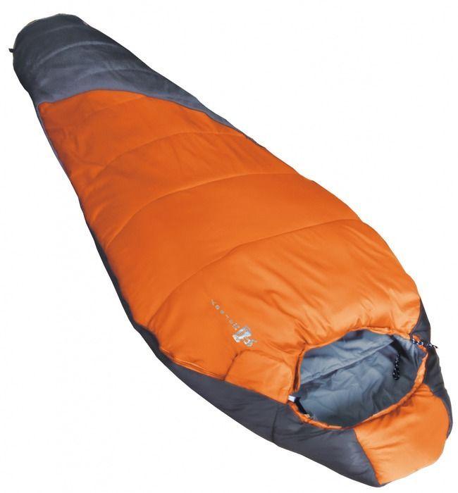 Спальный мешок Tramp Mersey R, цвет: оранжевый, серый, правосторонняя молния цена
