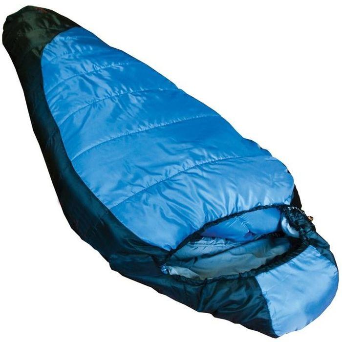 """Спальный мешок Tramp """"Siberia 3000 L"""", цвет: индиго, черный, левосторонняя молния"""