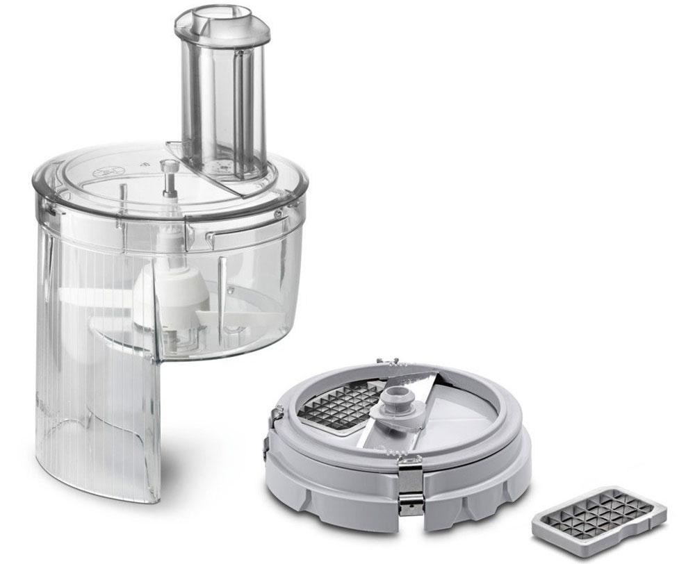 Bosch MUZ5CC2 насадка для нарезки кубиками для кухонных комбайнов насадка bosch muz5cc2 для нарезки кубиками
