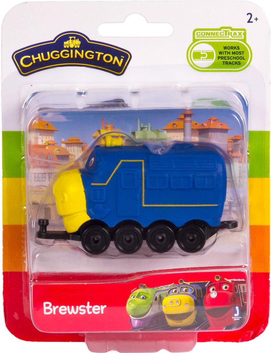 Chuggington Паровоз Брюстер 38587 фигурка chuggington паровозик брюстер