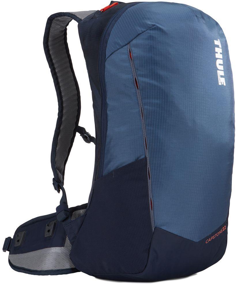 Рюкзак туристический мужской Thule Capstone, цвет: синий, темно-синий, 22 л. Размер S/M рюкзак мужской quiksilver everydaypostemb m eqybp03501 bng0 королевский синий