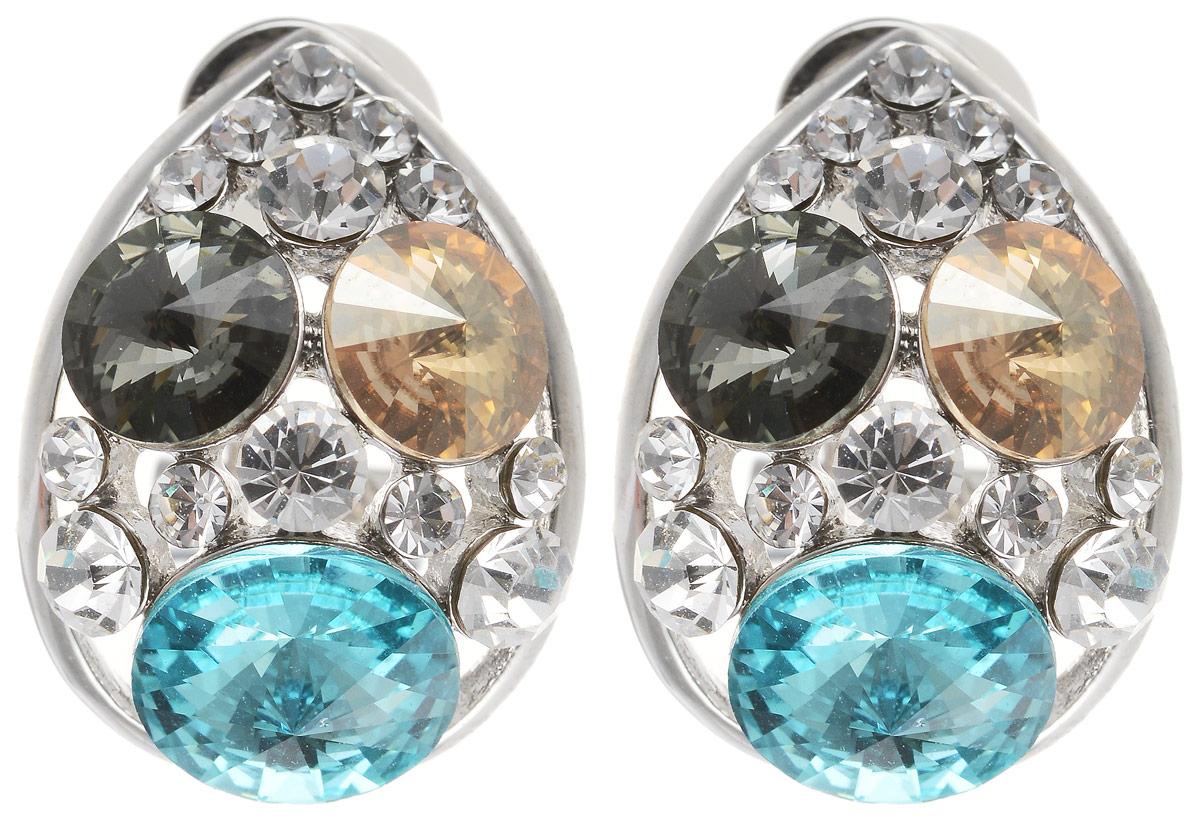 Серьги Art-Silver, цвет: серебряный. 27958-577 серьги art silver цвет золотой м5078 405